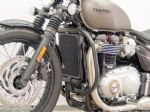 Triumph Bonneville Bobber (D76). Fehling Crash Bars. Black 2017on